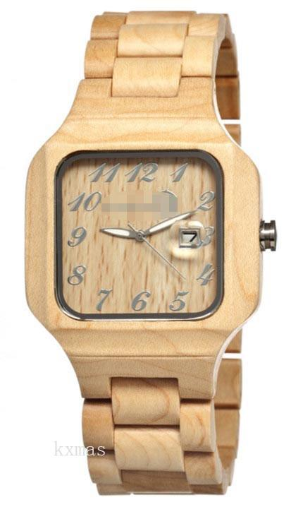 Discount Classic Wood 25 mm Watch Wristband SESO01_K0005152