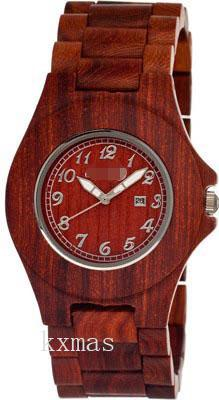 Cool Affordable Wood 25 mm Watches Strap SETO03_K0005146