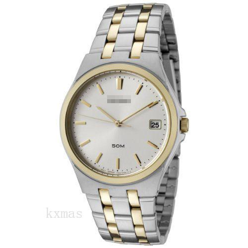 Discount High Quality Two-Tone Stainless Steel 19 mm Watches Band SGEF12P1_K0006631