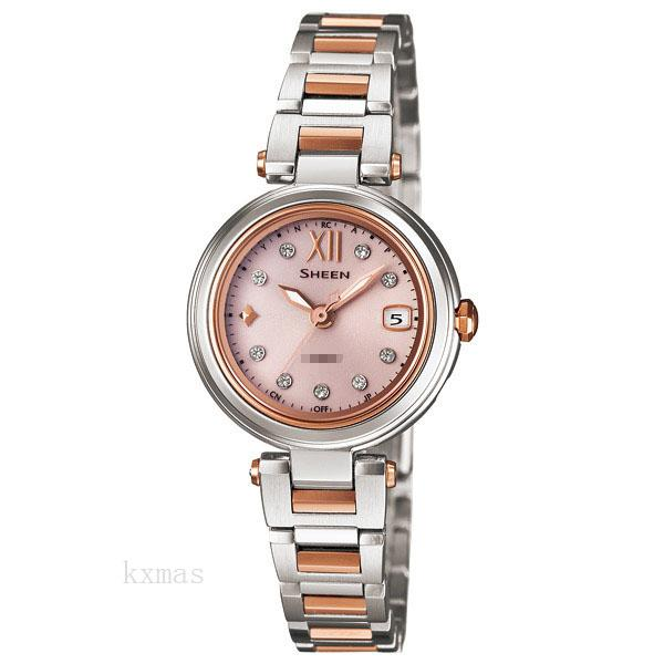 Inexpensive Luxury Stainless Steel Watches Band SHW-1504SG-4AJF_K0001956