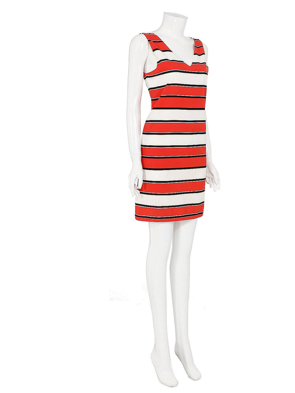 Ladies Striped Mini Dresses