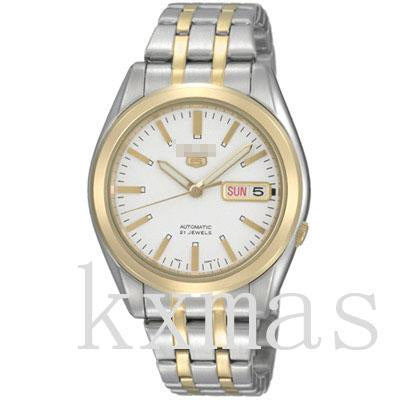 Cool Affordable Gold And Stainless Steel Watch Band SNKG98K1_K0007231