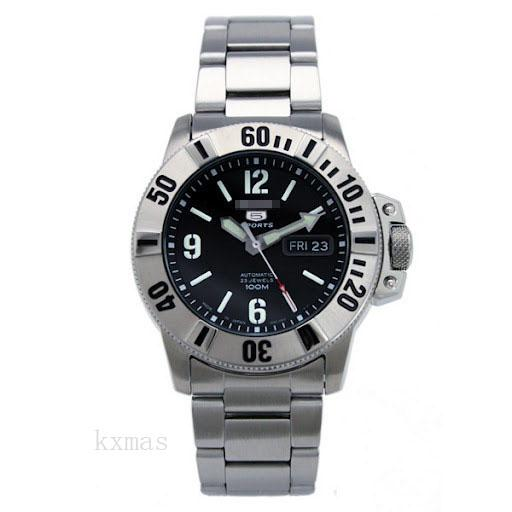 Discount Stainless Steel 22 mm Watch Wristband SNZG81J1_K0006479