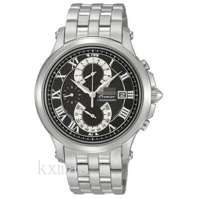 Unique Elegant Stainless Steel 19 mm Watches Band SPC067P1_K0006423