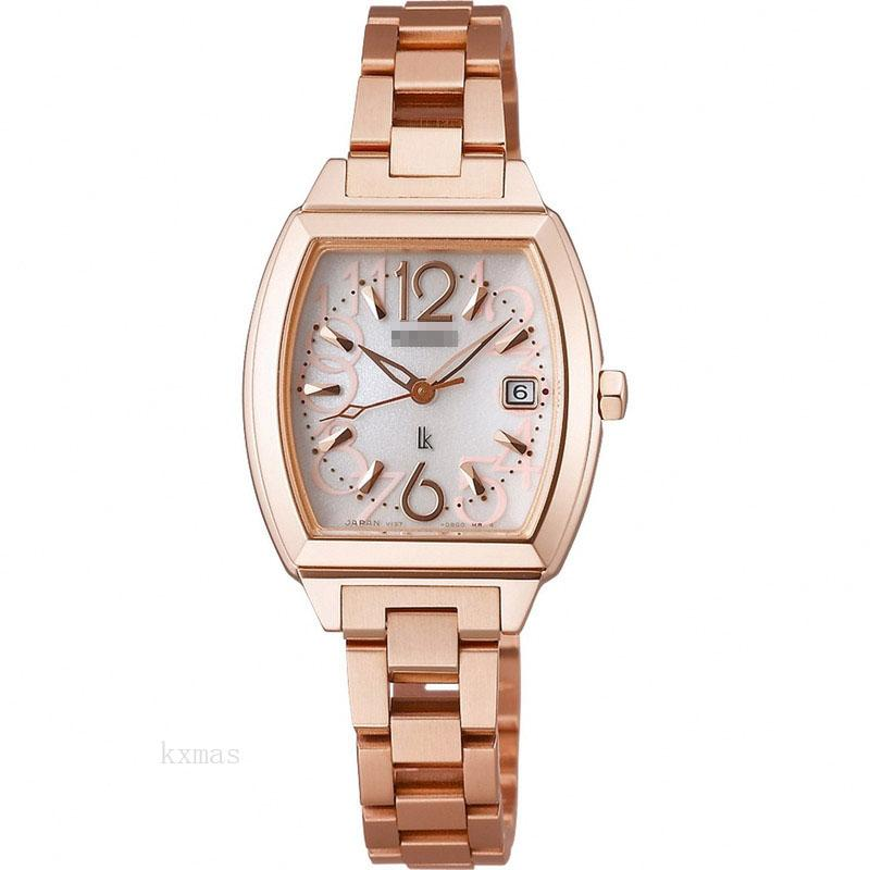 Wholesale OEM Rose Gold 7 mm Watches Band SSVN020_K0005070