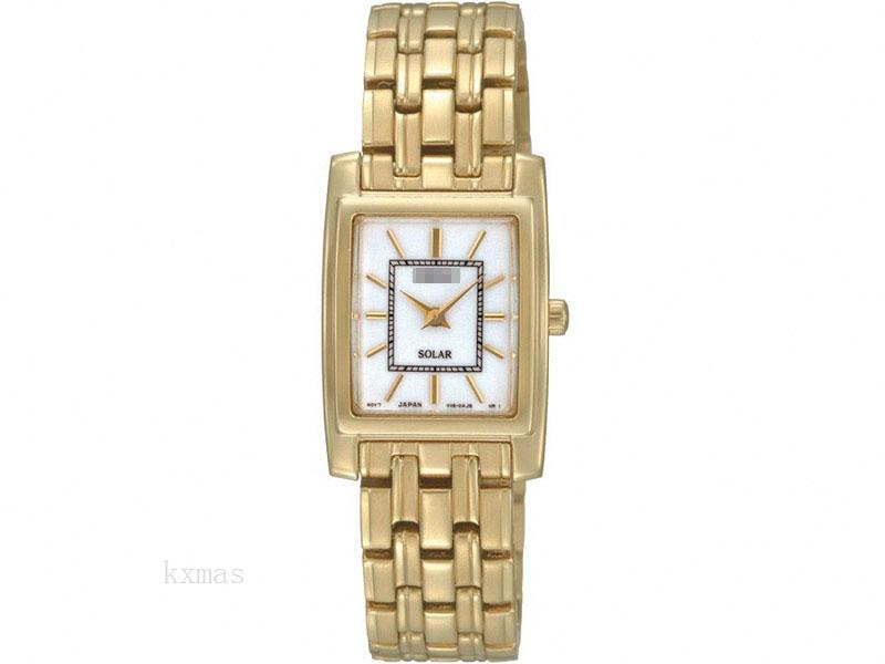 Wholesale Shop Gold Tone Watch Band SUP080P1_K0005935