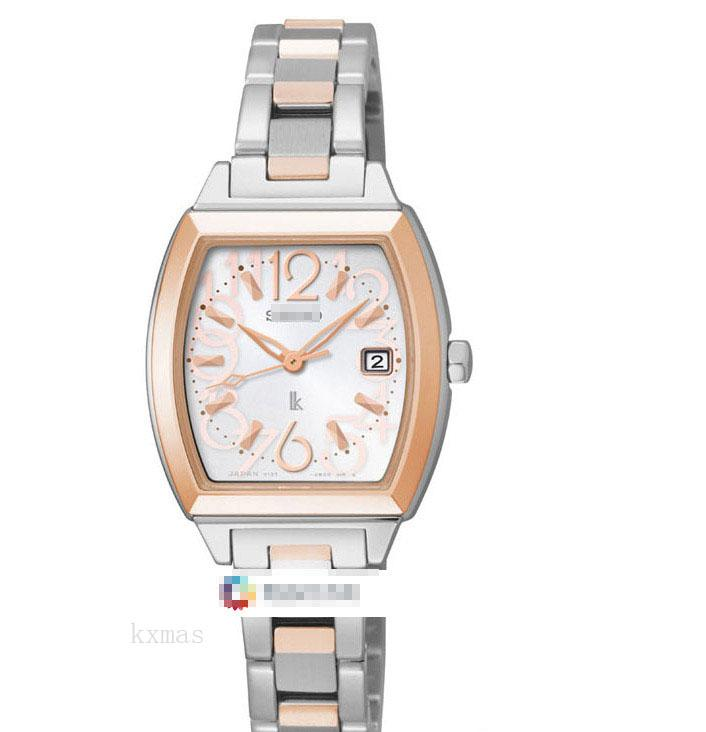 Cheap Wholesale Shopping Rose Gold And Stainless Steel 19 mm Wristwatch Band SUT102J1_K0005911