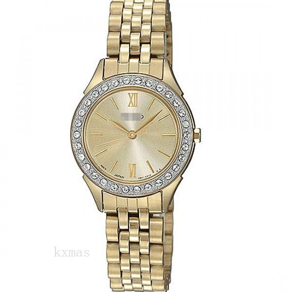 Inexpensive Great Gold Tone Watch Bracelet SXGP30P1_K0005783