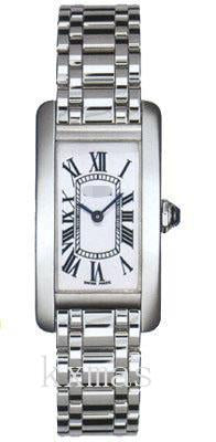Nice Affordable 18K White Gold Watch Band W26019L1_K0000794