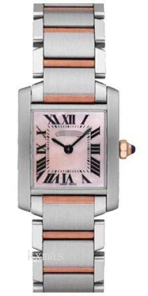 Best Buy Shop Online Brushed And Polished 18K Rose Gold With Stainless Steel Watch Band W51027Q4_K0000638