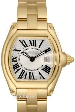 Wholesale Supply Polished 18K Yellow Gold Also Comes With Interchangeable Watch Band W62005V1_K0000618