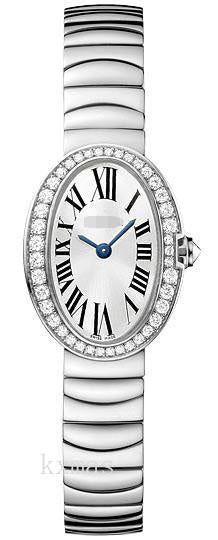 Hot Fashion 18Kt White Gold Polished Watches Band WB520025_K0000473