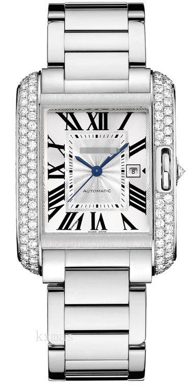 Buy Wholesale Cheap White Gold Wristwatch Band WT100009_K0000312
