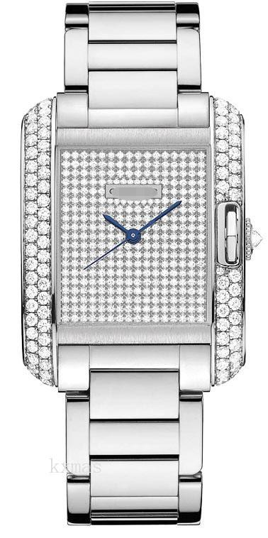 Best Online Wholesale White Gold Watch Band WT100011_K0000310