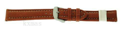 Wholesale High-quality Synthetic Leather 16 mm Watch Strap Replacement ZC-16NAU-BROWN-MOM_K0014519
