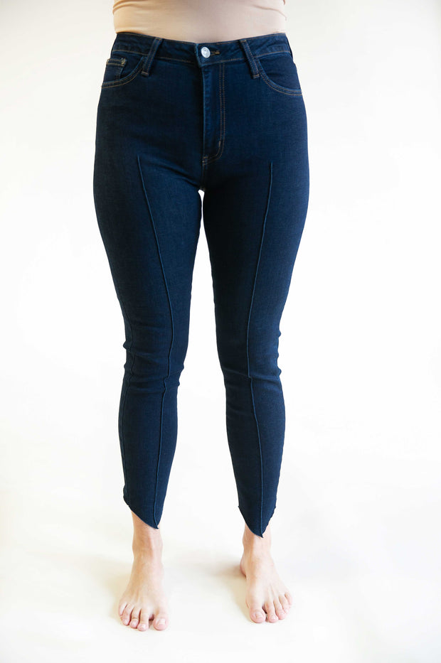 Carly Front Pintuck Jeans - Phoebe Jane