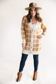 Lillian Button Down Boyfriend Cardigan - Phoebe Jane