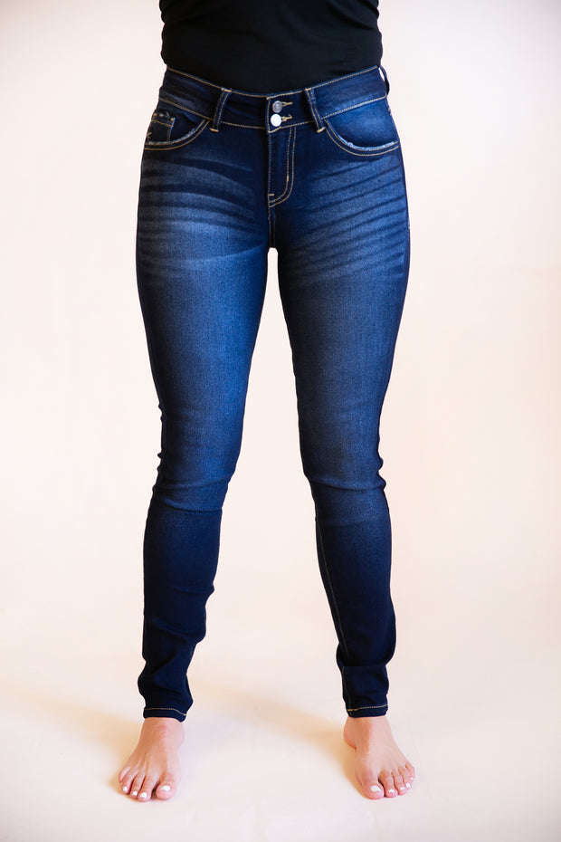June Mid Rise Skinny Jeans - Phoebe Jane