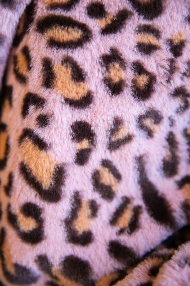 Paige Furry Leopard Jacket - Phoebe Jane