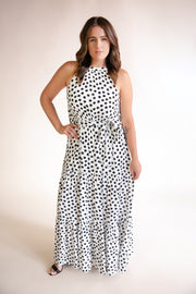 Nicole Tiered Maxi Dress