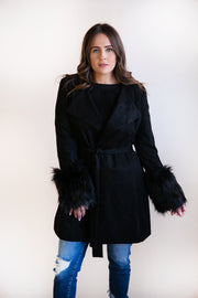 Dynasty Suede Trench - Phoebe Jane
