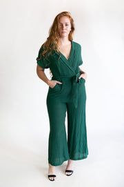 Helen Wide Leg Jumpsuit - Phoebe Jane