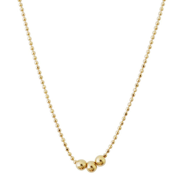 Belle Chain Necklace  In Gold - Phoebe Jane