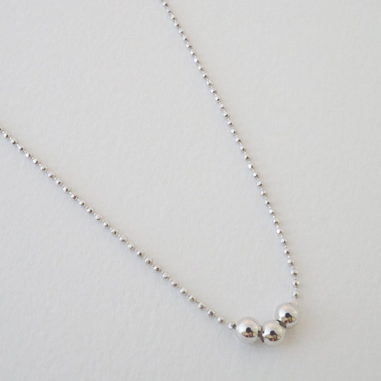 Belle Chain Necklace In Silver - Phoebe Jane