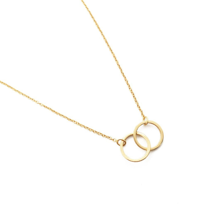 Mini Harmony Necklace In Gold - Phoebe Jane