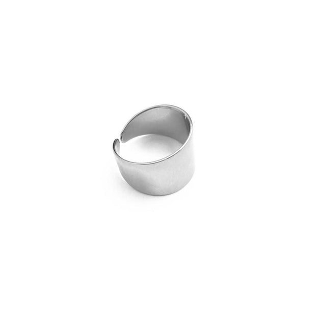 Cuff Wrap Ring In Silver - Phoebe Jane