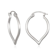 Open to Possibilities Earrings In Silver - Phoebe Jane