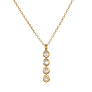 Create a New Path Necklace In Gold - Phoebe Jane