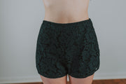 SugarLips - Verena Lace Shorts In Navy - Phoebe Jane