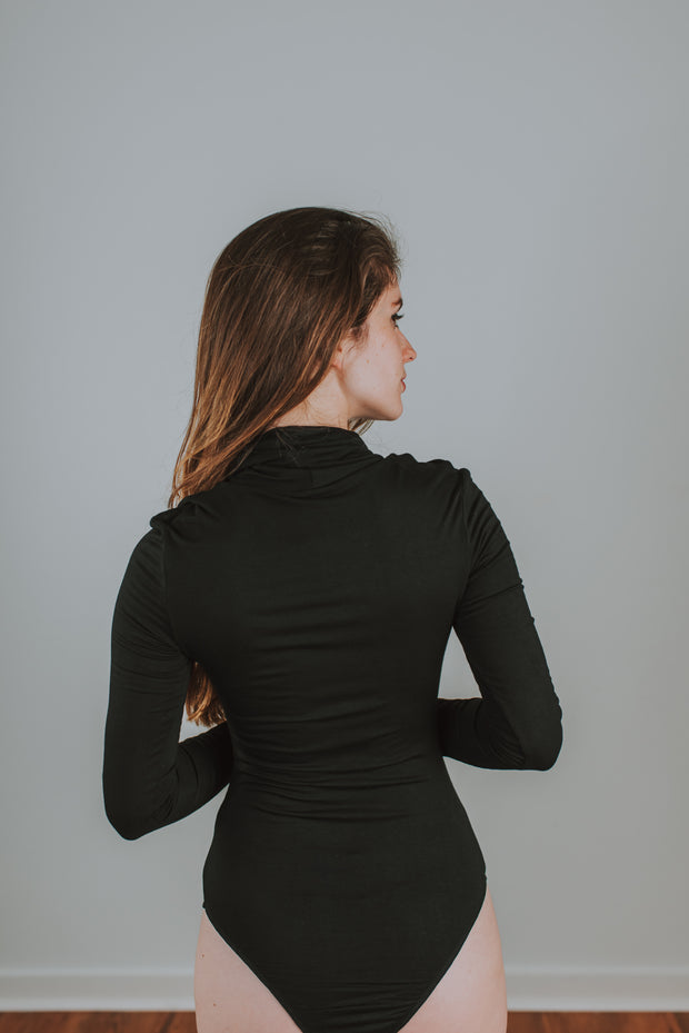 Audrey Turtleneck Bodysuit - Phoebe Jane