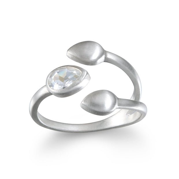 Petals of Potential Ring  In Silver - Phoebe Jane