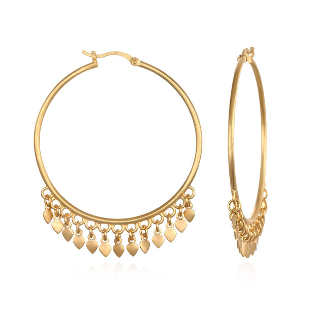 Budding Potential Earrings In Gold - Phoebe Jane