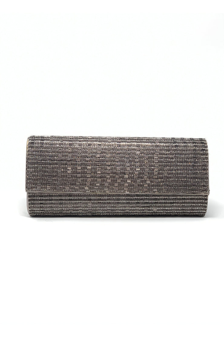 Isa Sparkly Beaded Clutch - Phoebe Jane