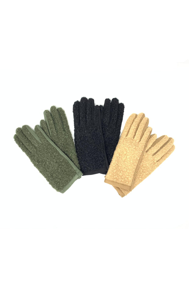Candi Knit Gloves - Phoebe Jane