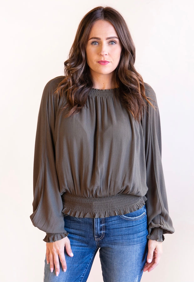 Rachel Dolman Sleeve Top - Phoebe Jane