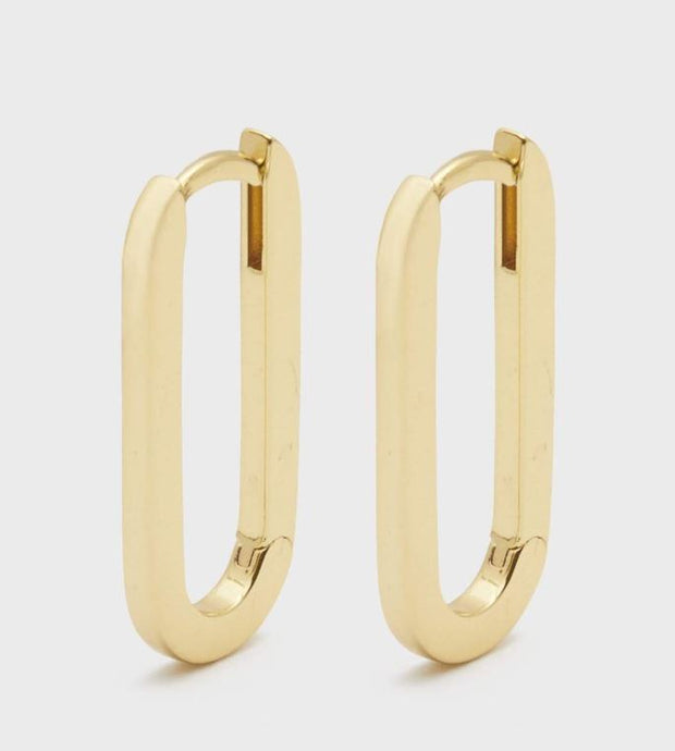 Gorjana - Parker Huggies Earrings In Gold - Phoebe Jane