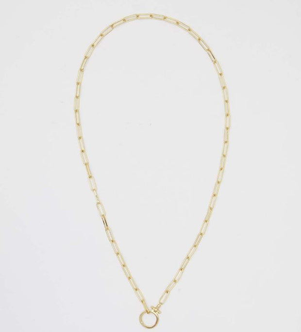 Gorjana - Parker Link Necklace In Gold - Phoebe Jane