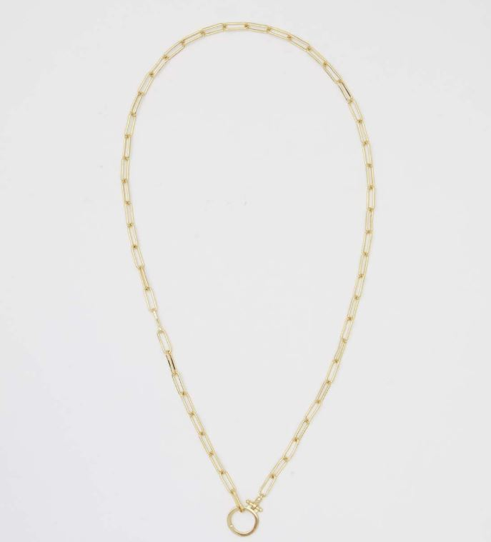 Gorjana - Parker Necklace In Gold - Phoebe Jane