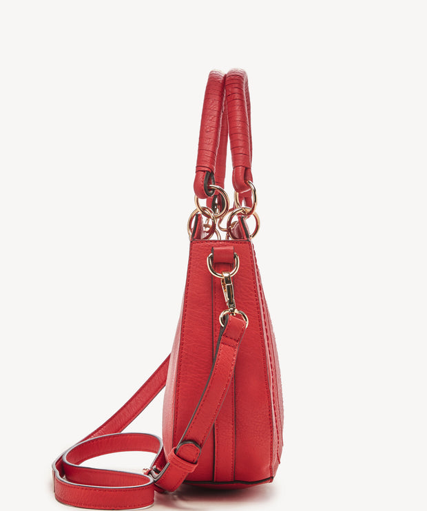 Sole Society - Ruby Satchel In Poppy - Phoebe Jane