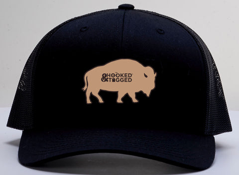 *SALE* H&T Buffalo Patch Hat