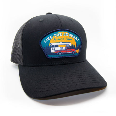 H&T Live The Journey Patch Hat - (Curved-Brim)
