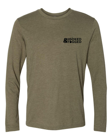 H&T Men's Long Sleeve Crew