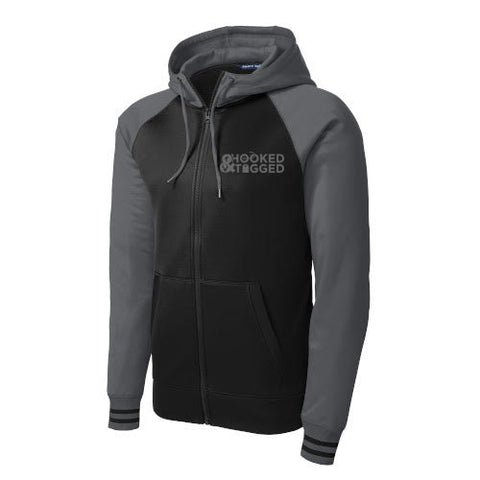 H&T Men's Full Zip Hooded Sport Jacket