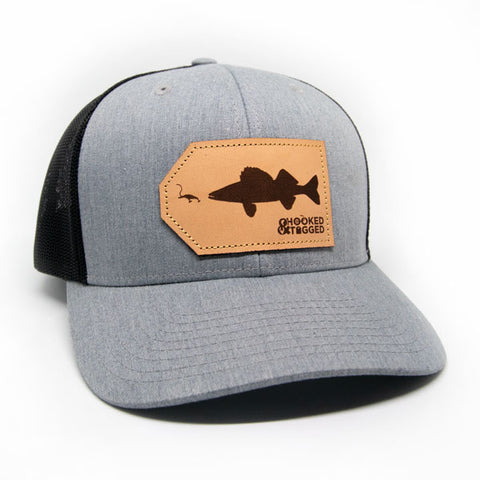 H&T Walleye Patch Hat (Curved-Brim) (2020)