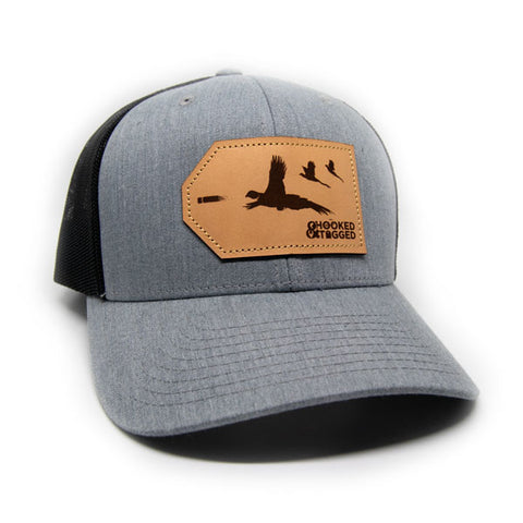 H&T Pheasant Patch Hat - (Curved-Brim)