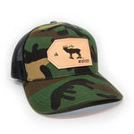 H&T Elk Patch Hat - (Curved-Brim)